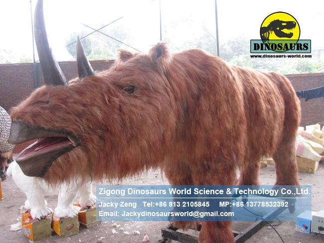 Ice age animals woolly rhinoceros Primeval DWA109