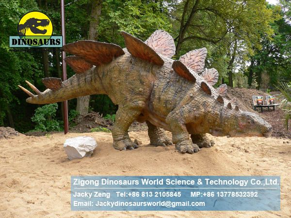 Playground equipment playgrounds for sale outdoor (Stegosaurus) DWD098
