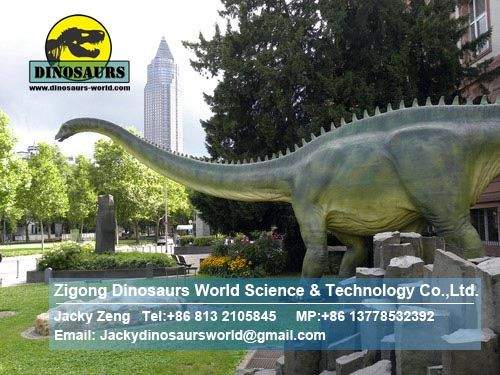 Outdoor playground equipment ( Diplodocus) DWD009