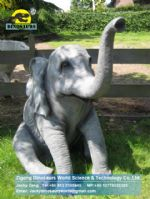 Animatronic simulated Baby elephant DWA006