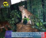 Theme park animatronic exhibition  ( Snow Leopard ) DWA008