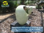 Caravan park kids amusement games ( Animatronic dino eggs ) DWE004