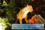 Animatronic animal model art toys leopard DWA014