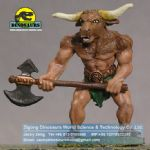 Kids like Cartoon character in moive animatronic Minotaur  DWC009