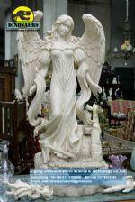 Sculpture and garden model angel sculpture DWC003