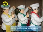 Fiberglass cartoon character cook DWC004