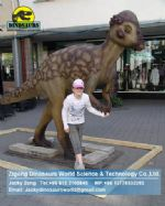 Amusement park Animatronic Dinosaurs shows ( Pachycephalosaurus ) DWD025