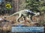playground slide for children animatronic dinosaurs ( Ankylosaurus ) DWD028