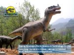 Play dinosaurs in amusement park playground set  ( Ceratosaurus ) DWD030