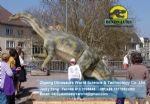 Carousel amusement park Animatronic dinosaurs ( Plateosaurus) DWD032