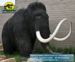 Plastic jungle gym electric animatronic animals (Mammoth) DWA036