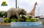 Kids Playground amusementy toys equipments animal elephant DWA040