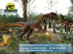 Playground life like animatronic dinosaur Dilophosaurus DWD090