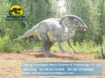 Children playground equipment dinosaur (Parasaurolophus) DWD093