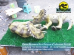 Playground slide for children Dinosaurs ( Baby triceratops ) DWD040-1