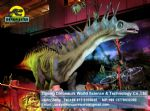 Artificial dinosaur for amusement park equipment (Amargasaurus) DWD106