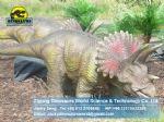 Playground dino park animatronic dinosaur ( Triceratops ) DWD053