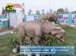 Animatronic exhibition Dinosaurs Animatronic crafts (Pachyrhinosaurus) DWD064