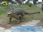 Mechanical dinosaur for dino park static dinosaur (Ankylosaurus) DWD065