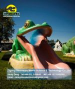 Playground kids slide game ( Frog slide ) DWE015
