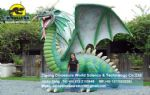Fiberglass dragon decoration outdoor play DWE034