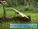 Playground equipment animatronic animals life size dragonfly DWA027