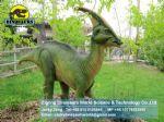 Amusement park realistic simulated dinosaurs Parasaurolophus DWD139