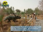 Theme park simulated animal equipment dinosaurs styracosaurus DWD141