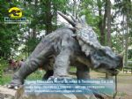2012 New children dinosaur outdoor playground Styracosaurus DWD155