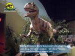 Children equipment animatronic dinosaur bronze animal Allosaurus DWD173