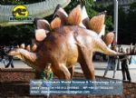 Animatronic china children dinosaur rides (Stegosaurus) DWD169