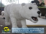 Artificial Walking polar bear robotic animals DWA118