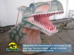 Theme park equipment dino head for taking pictures DWE035