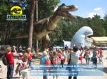 Theme park equipment Animatronic Dinosaur Tyrannosaurus rex DWD1342