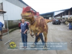 Customized walking with robotic dinosaur costume DWE3324-15