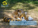 Outdoor equipment fiberglass animal statue tiger ( Tiger ) DWA048