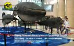 Museum exhibition equipment animatronic whale DWA063