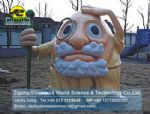 Theme Park fiberglass cartoon character model grandpa DWC012