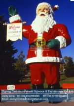 Animatronic christmas santa in holiday christmas day DWC013