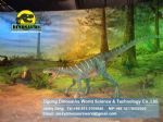 New christmas decoration animatronic dinosaurs ( Herrerasaurus) DWD007