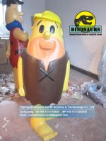 Theme park animatronic life sized Barney Rubble DWC033