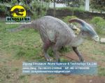 Outdoor playground shopping mall animatronic parasaurolophus DWD002